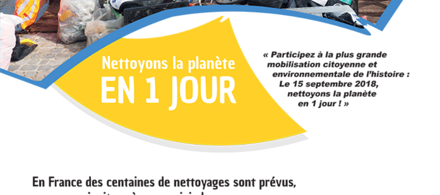 La Jeune chambre économique de Saint Etienne et le nettoyage