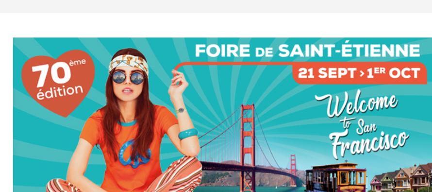 70ème Foire Internationale de Saint-Etienne : en route pour la Californie !