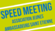 Jeunes Ambassadeurs : speed meeting '4 octobre