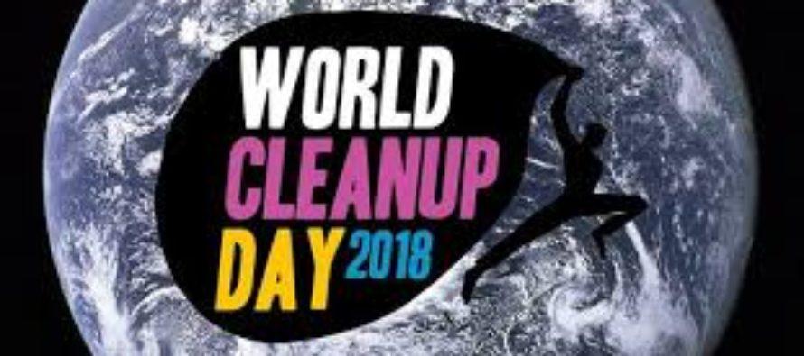 La J C E de Sainté se mobilise pour nettoyer la planète
