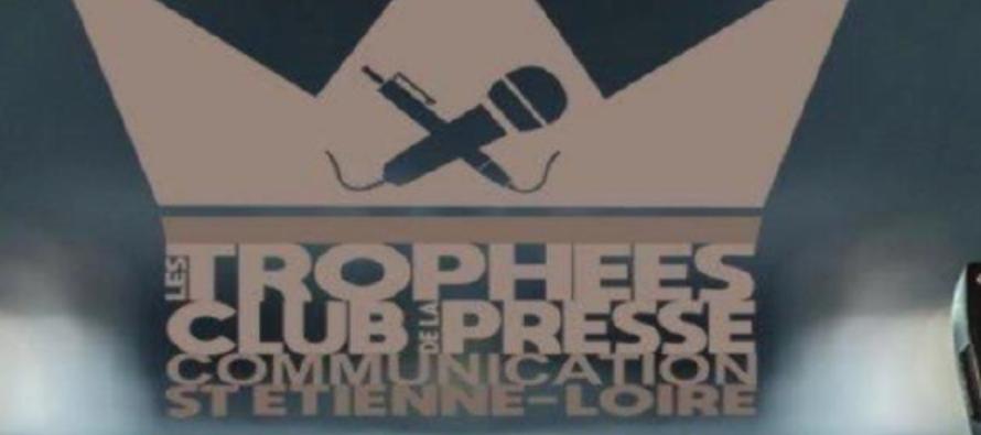 Trophées du Club de la Presse de Saint-Etienne 2018.