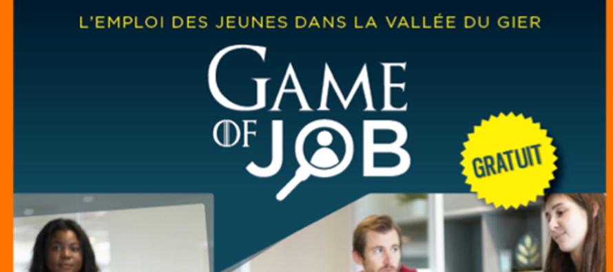 1ère Edition de Game Of Job pour l'emploi des jeunes dans la Vallée Du Gier !