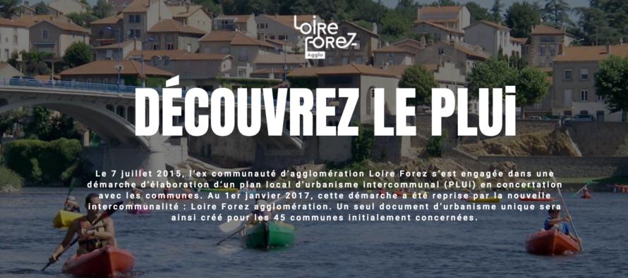 Urbanisme en Loire Forez.