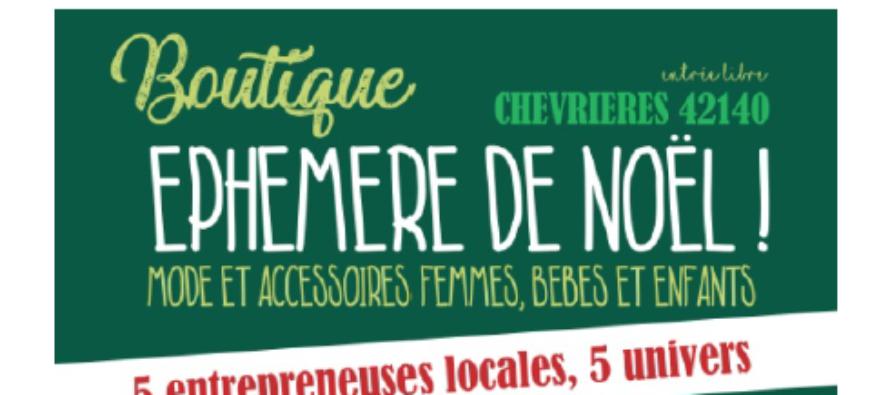 Chevrières : Une boutique éphémère pour dynamiser le commerce local