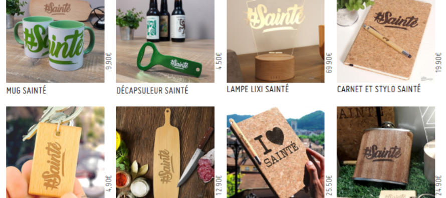 L'entreprise ligérienne Cadeau Maestro lance sa marque #Sainté !