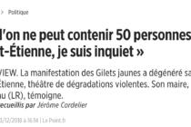 Les craintes de Gaël Perdriau.