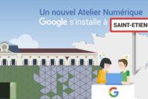 Google à Saint-Etienne.
