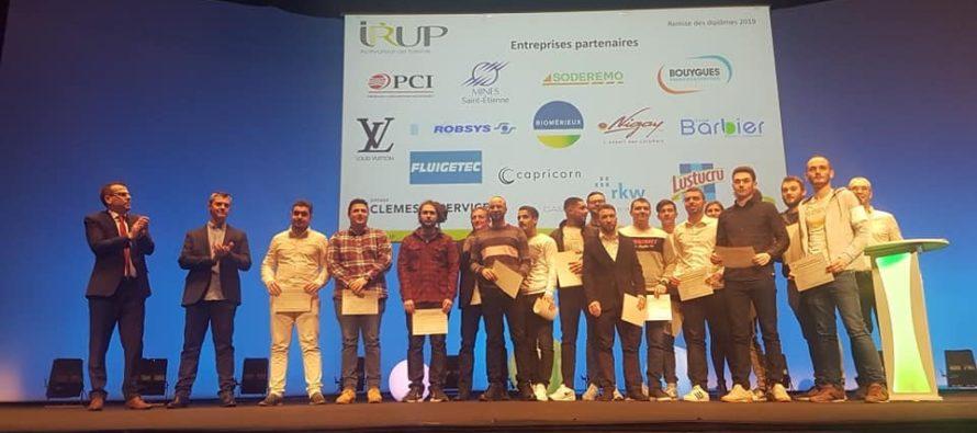 278 diplômés promotion 2018 à l'IRUP
