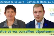 Nouvelles d'un binôme : Chantal Brosse et Pierre-Jean Rochette,