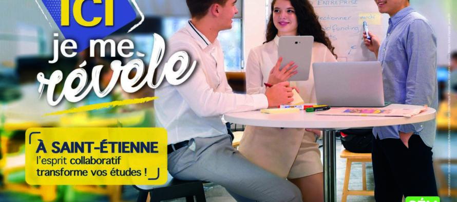 Saint-Étienne, grande métropole étudiante !