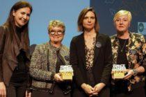 Le trophée  « Ville et Congrès de l'année » attribué à Sainté!
