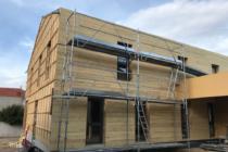Construire en bois local