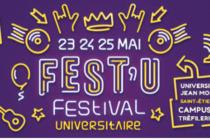 Fest'U de l'Université Jean Monnet, Saint-Étienne du 23 au 25 mai 2019