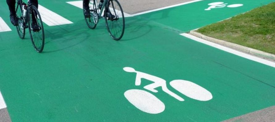 A bicyclette dans la métropole stéphanoise
