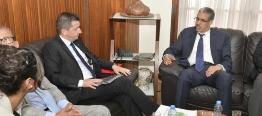 Le Maire de Kenitra au Maroc en terre Stéphanoise