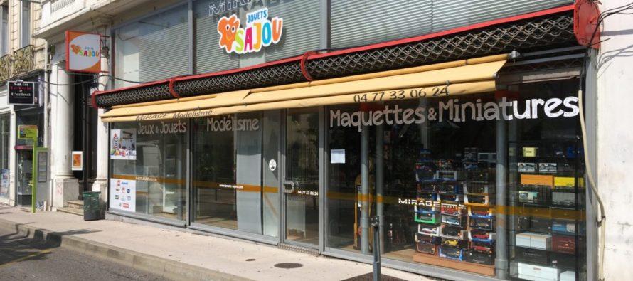 Les jouets SAJOU à Saint-Étienne, seul magasin de jouets du centre-ville