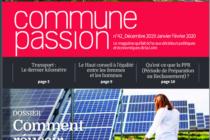 Cure de jouvence pour le magazine Commune Passion