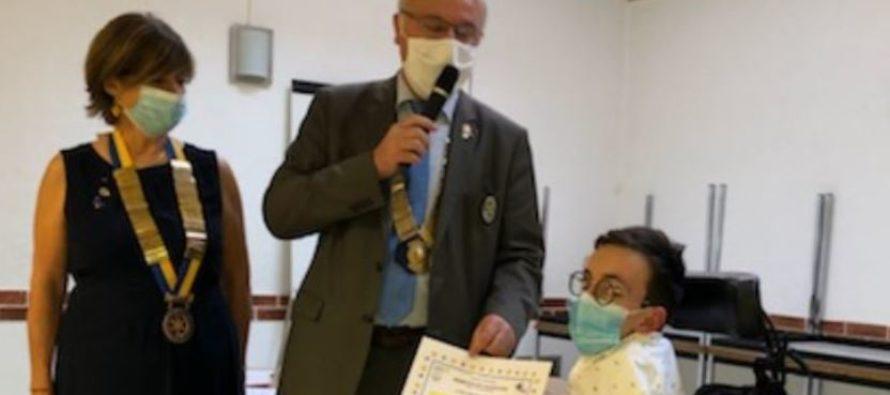 Talons d'or 2020 du Rotary: Vincent Vacher
