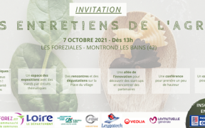 invitation entretiens de l'agro 2021